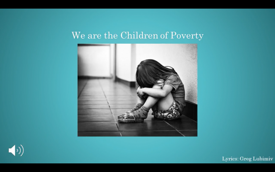We are the Childern of Poverty
