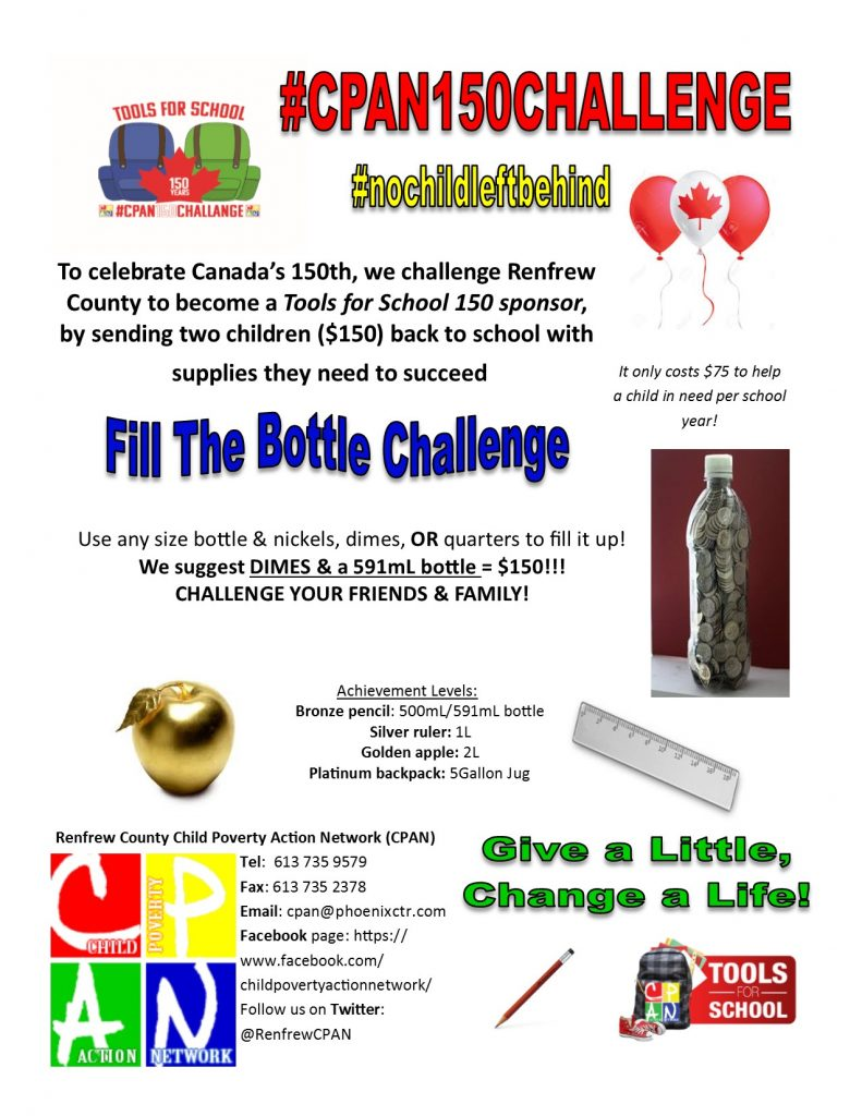 Bottle Challenge Flyer